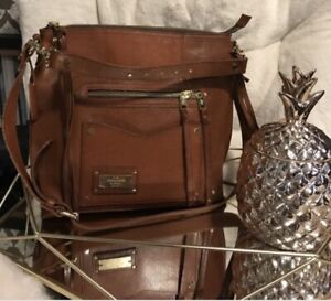 Abercrombie and Fitch Leather Heritage Bag Tote