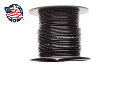 50ft Mil-spec High Temperature Wire Cable 16 Gauge Black Tefzel M2275916-16-0