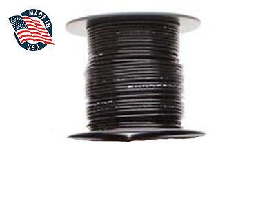 100ft Milspec High Temperature Wire Cable 22 Gauge Black Tefzel M2275916-22-0
