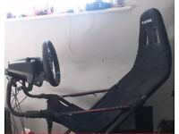 g29 racing wheel shifter and pedals/playseat challenge *sold seperate* ps4/pc
