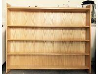 Vintage Reclaimed Wall-mounted Bookcase