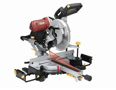 New 12 in. Double Bevel Sliding Compound Miter Saw With Laser Guide (15 amp)