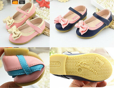 Baby Girls Toddler  Kids Children Dance Shoes Princess Shoes Flats Size 1-4 Year
