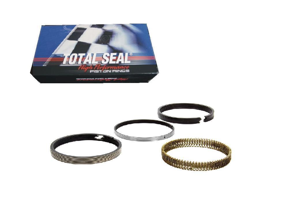 """Total Seal Piston Ring Set CR3690-65; Classic Race Plasma Moly 4.060/"""" File Fit"""