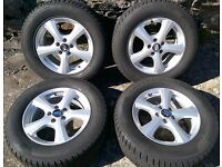 "16"" Alloys With Winter Tyres And Genuine Ford MK1 Rubber Mats"