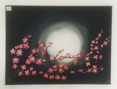 Original Striking Acrylic Painting #158 40x30cm on Box Canvas by StarkArt2020