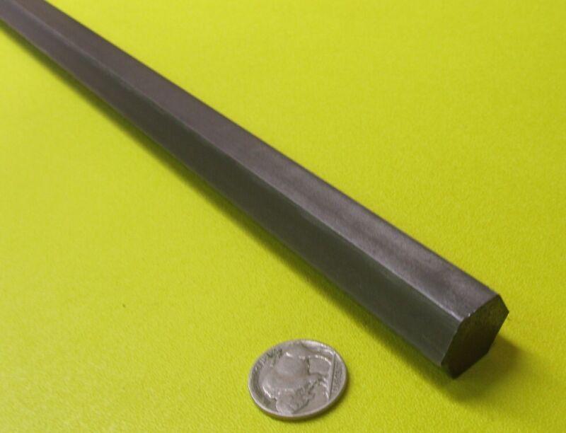 "1215 Carbon Steel Hex Rod 3/4"" Hex x 3 Foot Length"