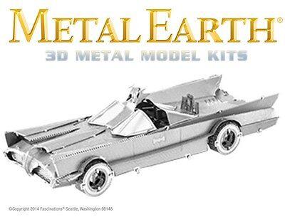 Fascinations Metal Earth Batman Classic TV Series Batmobile 3D Model Kit