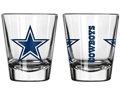 Dallas Cowboys Boelter NFL Gameday 2oz Shot Glass FREE SHIP!! ()