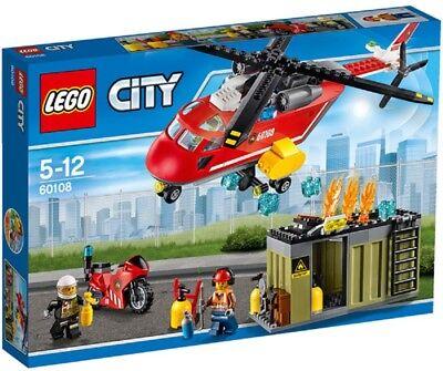 LEGO - CITY - 60108 - UNITÉ DE SECOURS DES POMPIERS