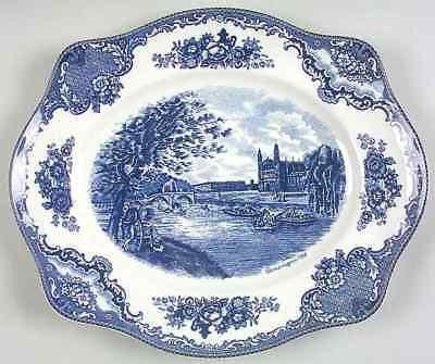 Johnson Bros OLD BRITAIN CASTLES BLUE 11 3/4