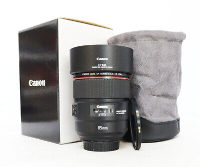 "Canon EF 85mm f/1.4L IS USM Lens ""Mint"" + BW filter"