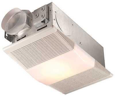 NuTone 665RP Heat-A-Ventlite Exhaust Fan with 1300-Watt Heat