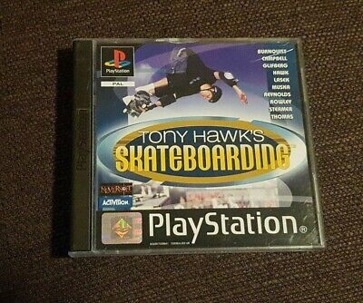 Tony Hawks Skateboarding Playstation 1 Game