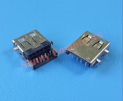 2x USB 2.0 Socket Port Female Plug Connector for Notebook Computer PC Repair AU Computer Repair Pc Notebook