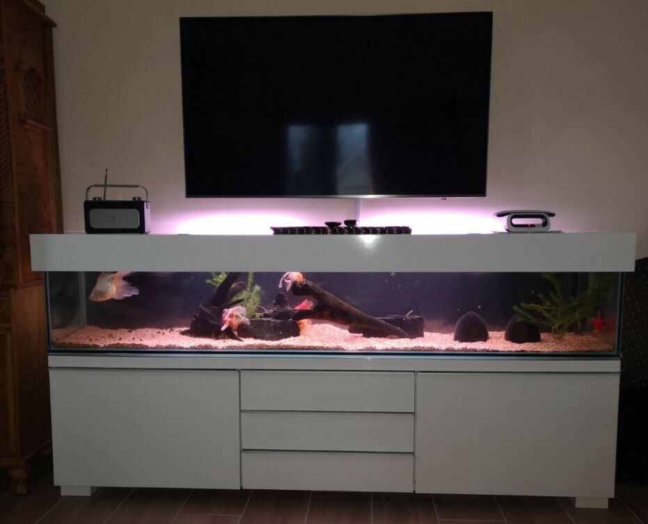 TV Console 6ft Fish tank | in Uxbridge, London | Gumtree
