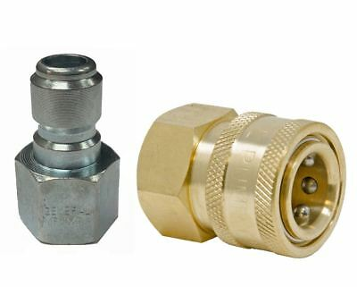 General Pump 38 Quick Disconnect Coupler Fittings For Pressure Washer Hose
