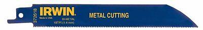 Irwin Tools Reciprocating Saw Blade Metal-cutting 6-inch 18 Tpi 372618b