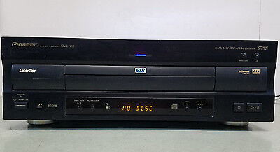 Pioneer DVD LD Laserdisc CD player DVL-919 parts or repair