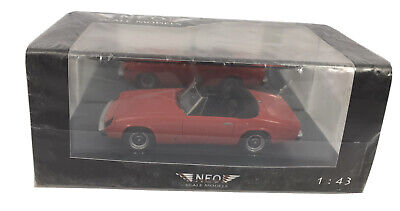 Neo Scale Models Jensen Healey Mk11: Die Cast Model 1.43 Scale MM-MG