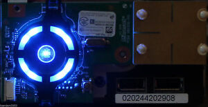 CUSTOM XBOX 360 Slim Blue Ring of Light Board - RF Module / ROL / Power -NICE!