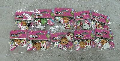 Shopkins Set Of  10  Shopkins Character Charm Bracelets ~ NEW