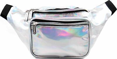 SoJourner Holographic Rave Fanny Pack - Packs Waist Bag for