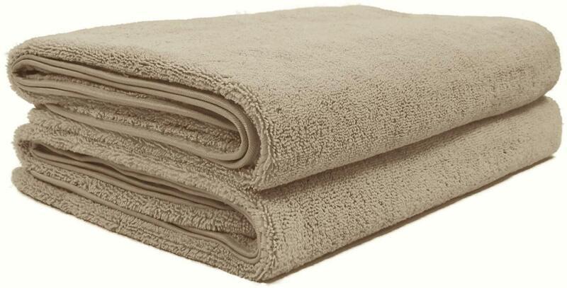 Polyte Quick Dry Lint Free Microfiber Bath Sheet, Set of 2
