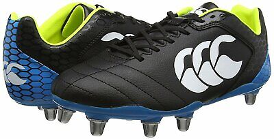 Canterbury Stampede Club 8 Stud Mens Rugby Boots  *Cheap* Wide Fit New Size US 9