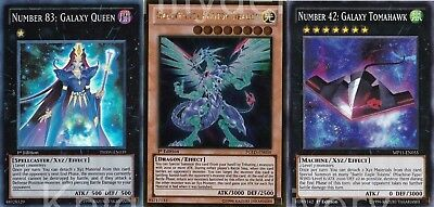 Galaxy Budget Deck - Galaxy-Eyes Photon Dragon - Queen - 42 Cards - Yugioh, used for sale  Shipping to Canada