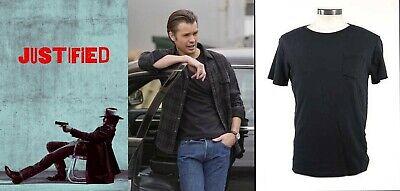 Justified - Raylan Givens screen worn shirt with Studio COA