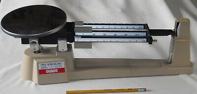 Ohaus 700800 Series Triple Beam Balance Scale Reloading Baking 2610g5lb 2oz