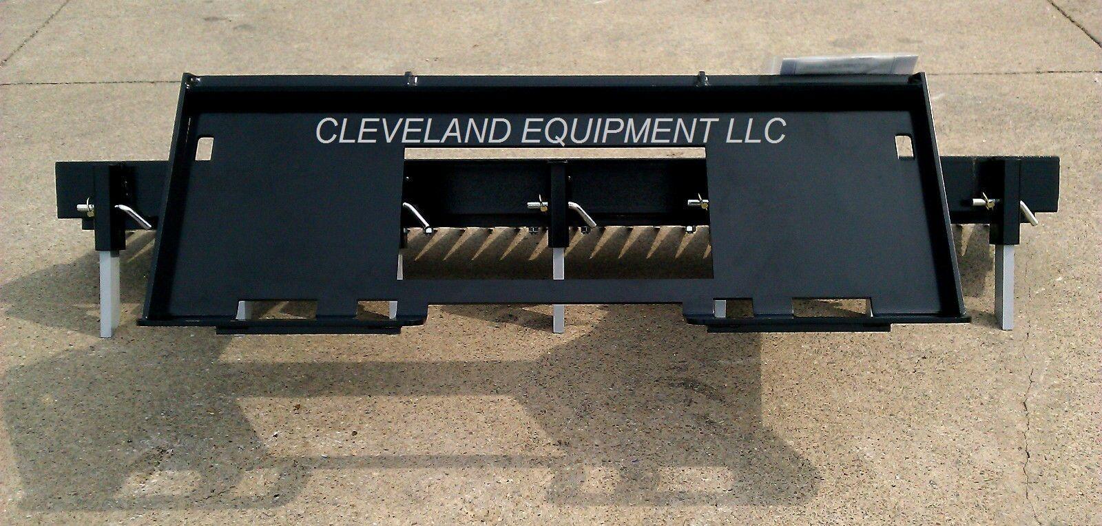 Landscaping Rake Skid Steer : Quot loegering eliminator landscape rake attachment skid steer loader