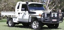 2008 TOYOTA LANDCRUISER UTE VDJ79R TURBO DIESEL V8, LIFT, ARB, Southport Gold Coast City Preview