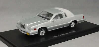 Neo Models Ford Thunderbird in Silver 1980 46980 1/43 NEW