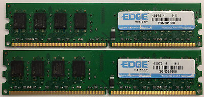 4GB 2x 2GB PC2-6400 DDR2 800MHz Desktop Memory RAM Non-ECC DIMM Dell HP Lenovo