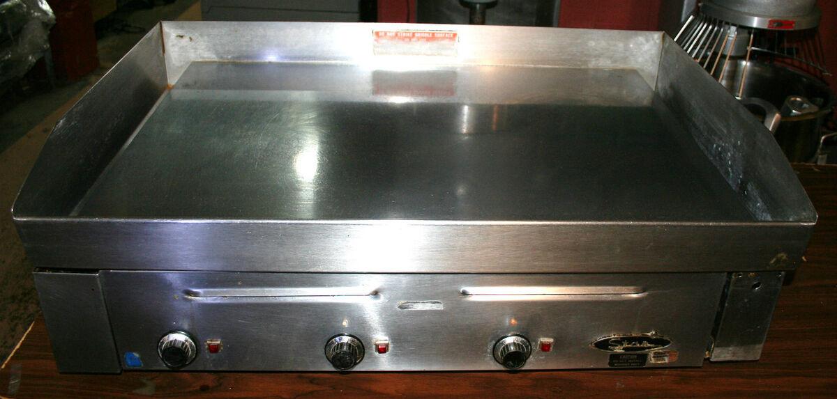 "Star Mfg 36"" Electric Griddle Grill Model 156CHS"