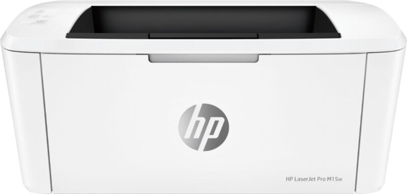 HP - LaserJet Pro M15w Laser Printer - White