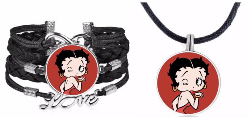 Betty Boop Bracelet And Necklace