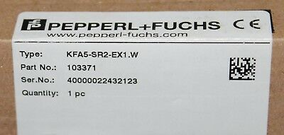 Pepperl Fuchs Kfa5 Sr2 Ex1.w K System 103371 Digital Isolater Amplifier Module