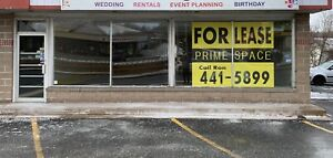 Prime Commercial Space in heart of Sackville Business District.