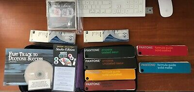 Pantone Color Formula Fan Guides Carry Case - Solid Cmyk Pastels Metallic
