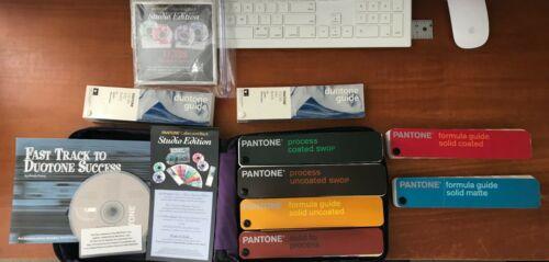 Pantone Color Formula Fan Guides + Carry Case - Solid, CMYK, Pastels, Metallic