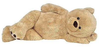 XXL TEDDYBÄR 170cm gross beige Plüsch-Bär Teddy Stoffbär Plüsch-Tier Kuscheltier
