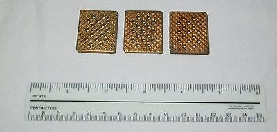 3 Ames Tissue-tek Sakura Cryocut Cryostat Microtome Perforated Specimen Chucks