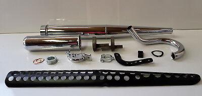 chrom Simson S50 S51 MZA Set: Auspuff S83 komplett mit Kr/ümmer und Anbauteilen S70 S53