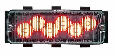 Whelen 500 Series Tir6 Super-led - Red - 50r03zcr- New