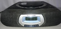 Vintage Philips Magnavox (AJ 3935/17) CD Player Alarm Clock Radio - TESTED