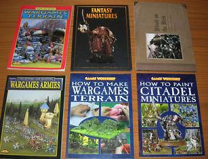 Warhammer Fantasy & 40K Books $5 - $35