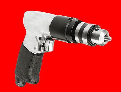 Druckluft Bohrmaschine Pneumatik Bohrer mit Zahnkranz Bohrfutter 1-10mm TP220